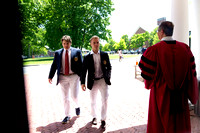 Pre-Graduation (Arrival, Class Photo, Faculty Handshake)